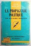 La Propagande politique par Jean-Louis Domenach
