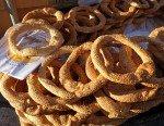 Petits pains grecs ensoleillés Thissio