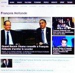 François Hollande aux Etats -Unis.