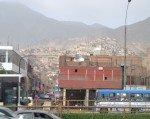 Vue de la Plaza Norte, Lima.